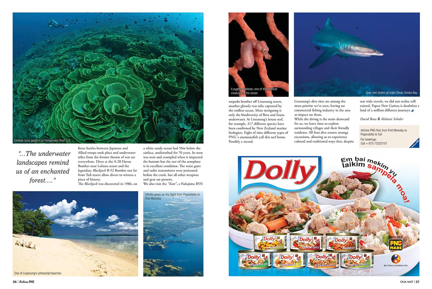 Airlines PNG inflight magazine.